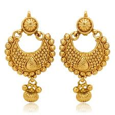 gold earrings for women images donna gold color metal dangle drop earrings for women zewar wala