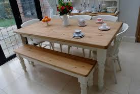 6ft pine table bench u0026 chairs kirkleys designs