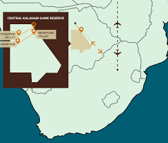 africa map kalahari safari in the central kalahari reserve mal d africa