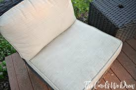 how to clean patio cushions with steam homeright