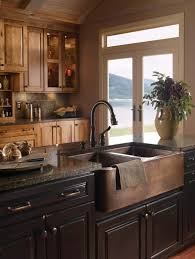 sink in kitchen island when and how to add a copper farmhouse sink to a kitchen
