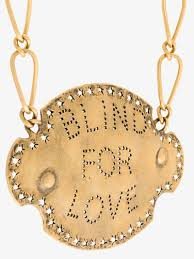 love chain necklace images Gucci blind for love chain necklace necklaces browns jpg