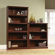 Sauder Bookcase Openbox Sauder 5 Shelf Bookcase Select Cherry Finish Ebay