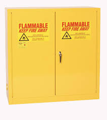 Yellow Flammable Storage Cabinet Eagle 1932 Safety Cabinet For Flammable Liquids 2