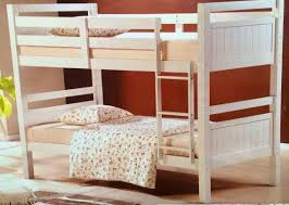 Bunk Beds King Bunk Bed King Single Solid White Solid Bunk New Goingbunks Biz