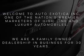 lexus dealer central nj used cars red bank nj used car dealerships in nj auto exotica