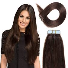 100 human hair extensions bhf in hair extensions 20 brown 2 20pcs 50g pack