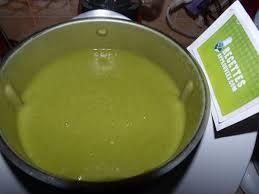 salade verte cuite recette cuisine velouté de laitue au thermomix sandrine h