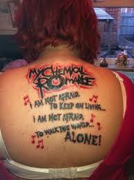 the best u0027my chemical romance u0027 tattoo you u0027ll ever see