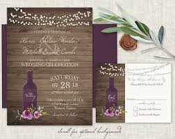 vineyard wedding invitations vineyard wedding invitations set printable rustic wine country