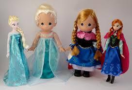classic precious moments elsa anna dolls standin u2026 flickr