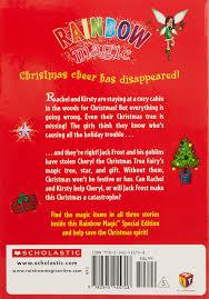 cheryl the christmas tree fairy special edition rainbow magic