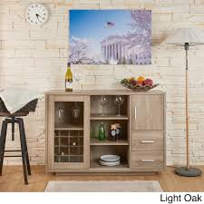 Wine Bar Furniture Modern by Furniture Of America Julienne Modern Sliding Door Wine Bar Dining