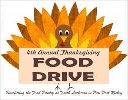 4th annual thanksgiving food drive sunday nov 19th suncoast