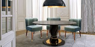 Dining Room Furniture Mississauga Round Dining Tables For Contemporary Living Spaces Porus Studio