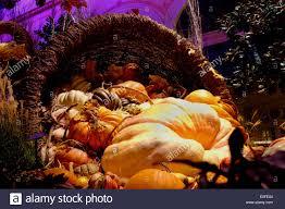 halloween shopping halloween pumpkin display in a las vegas casino shopping mall