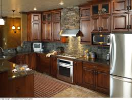 kitchen wall colors with dark oak cabinets google search