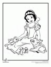 snow white printable