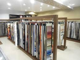 Curtain Stores Textile Showroom Interior Design Decorations Ideas Inspiring Cool