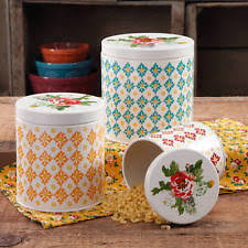 collectible ceramic kitchen canisters ebay