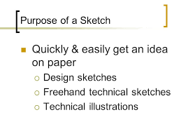 2 00 explain and demonstrate basic sketching skills and techniques