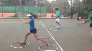 workout for neutral and open stance tennis forehand and backhand
