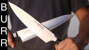 Which Are The Best Kitchen Knives by Japanese Vs Western Masamoto Gyuto Vs Wusthof Chef Knife Youtube