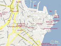 map of antibes flat apartments for rent in a villa in antibes iha 30731