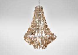 Pendant Lights For Living Room by Lighting Stunning Capiz Chandelier For Living Room Design With