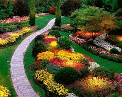 Flowers Gardens And Landscapes by Garden Design Garden Design With Wagon Wheel Gardensuch A Neat