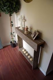 Farmhouse Console Table Skinny Console Table Rustic Sofa Table Reclaimed Wood Entry