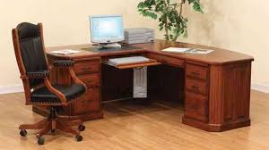 Wood Corner Desks For Home Wooden Corner Desk Desks For Home Office Solid Wood
