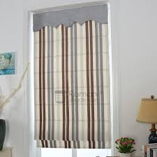 Mock Roman Shade Valance - faux roman shade valance home design ideas