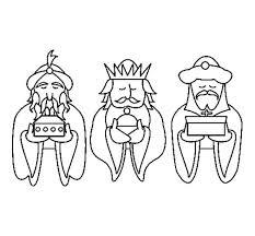 Kings Bring Gold Present Coloring Pages Batch Coloring