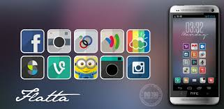 theme nova launcher android flatta android launcher ind190