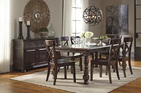 ashley dining room furniture signature design by ashley gerlane 9 piece solid pine dining table