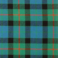 gunn ancient heavy weight tartan fabric lochcarron of scotland
