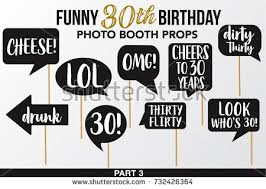 Photo Booth Sign Set Printable Bachelorette Photobooth Props Vector Stock Vector