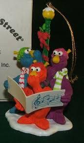 zoe muppet 007 on sesame ornament for sale