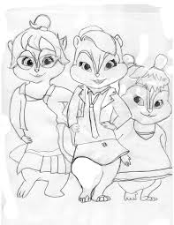 chipettes coloring pages 65 coloring pages