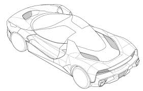 ferrari laferrari sketch patent images show new laferrari based special edition model