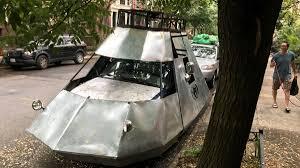 brooklyn dad u0027s u0027spaceship u0027 has neighbors scratching their heads