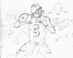 ravens coloring page mens nike joe flacco 5 for gray limited shop