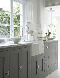 cuisine et grise on joue la carte du chic et de l intemporel avec la cuisine grise