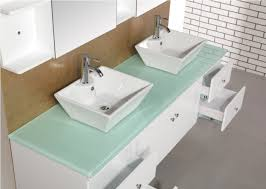 Bathroom Sink On Top Of Vanity Outstanding Custom Wood Top Vanity Contemporary Bathroom Vanities