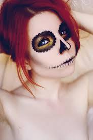 half skull mask halloween diy halloween sugar skull costume u2013 a little black dress paired