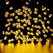 Amber Christmas Lights Amazon Com Qedertek Solar Christmas Lights 72ft 200 Led Fairy