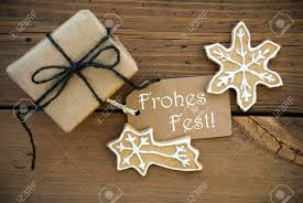 the german words frohes which means merry on