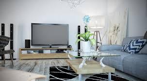 living room cozy living room design with light grey modern sofa