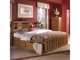 Bookcase Bed Full Lang Furniture Youth Full Bookcase Bed With Under Bed Drawer